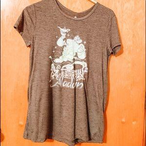 "Dark Grey "" Aladdin "" tee shirt"